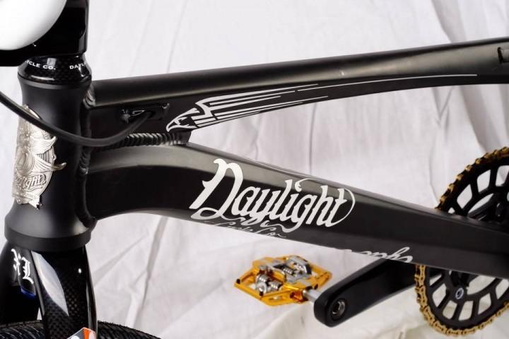 Daylight Arc C1 Black Tie down tube