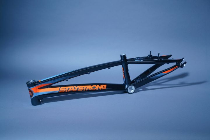 Stay Strong for life BMX black