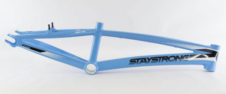 Stay Strong for life bmx blue