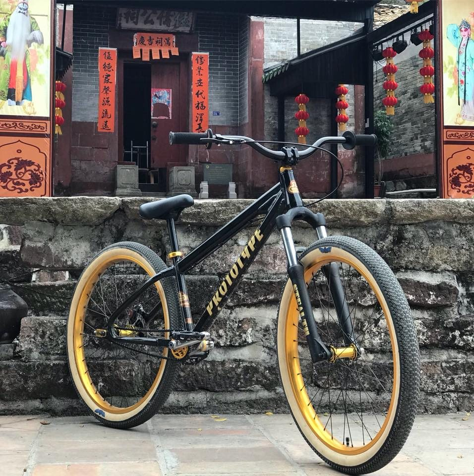 Se Bikes Dirt jumper prototype 2019 side