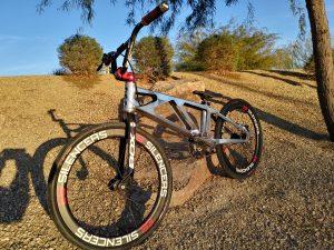 custom jayhawk bmx, e6 wheels