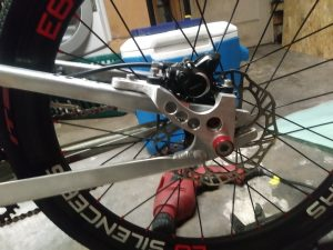 jayhawk bmx custom disc brakes