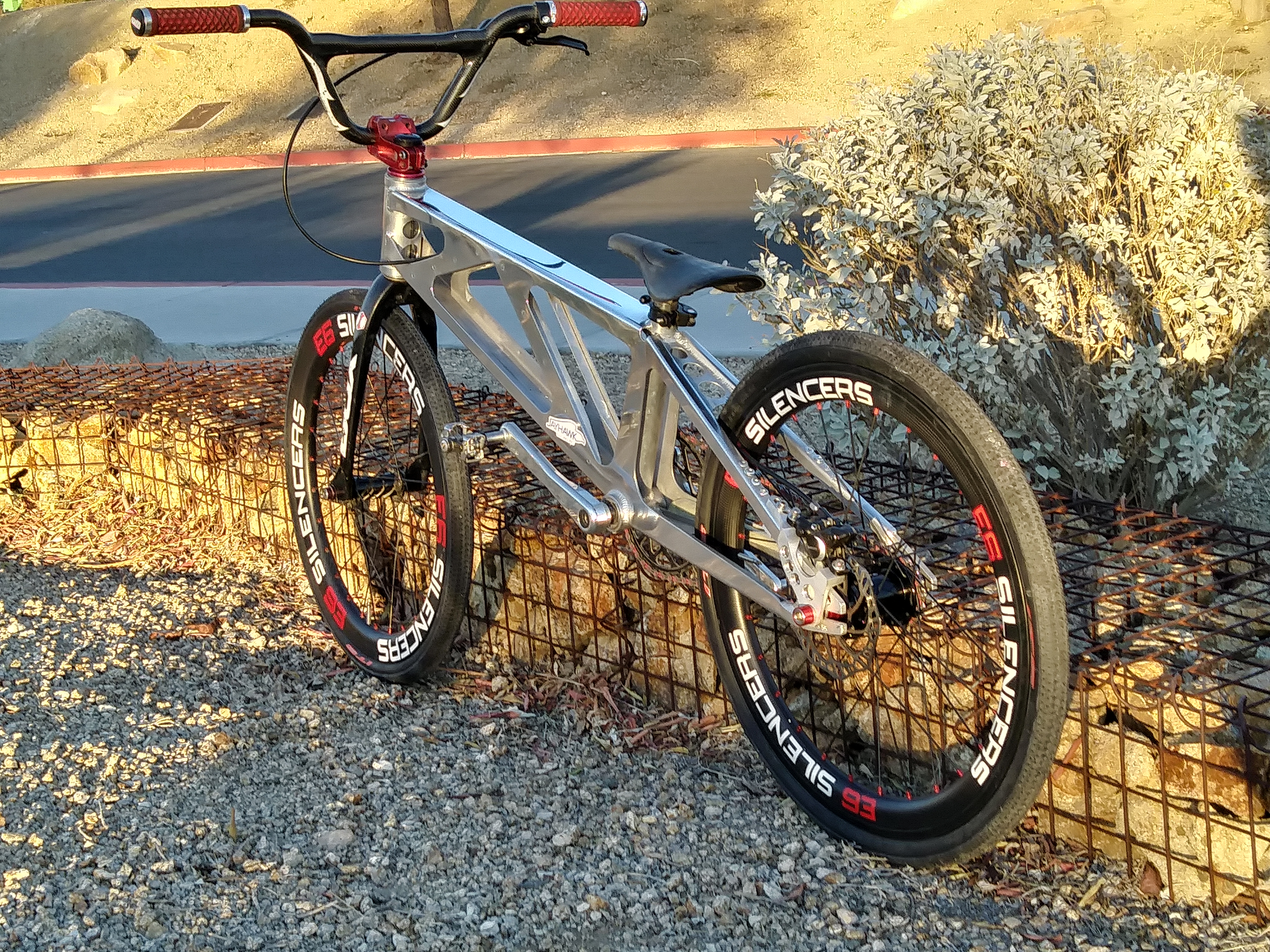 custom jayhawk bmx racing bike