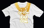 djcon rapacon t-shirt design
