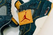 levis-air-jordan-denim sneakers