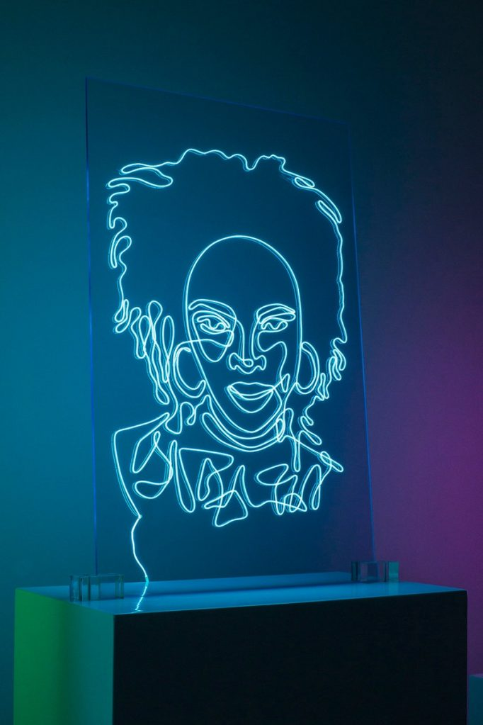natalie-wong-neon-portraits lauryn hill