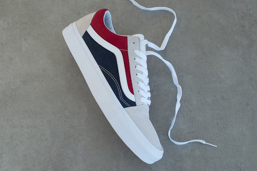 vans 2018 red white blue