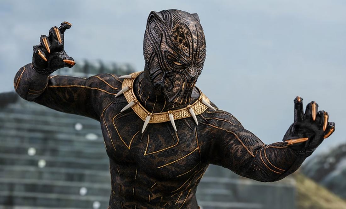 Black Panther Killmonger Hot Toys 2
