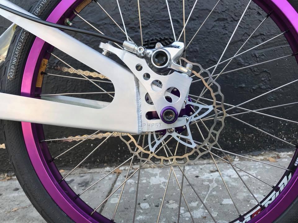 Jayhawk BMX Rear disc brakes