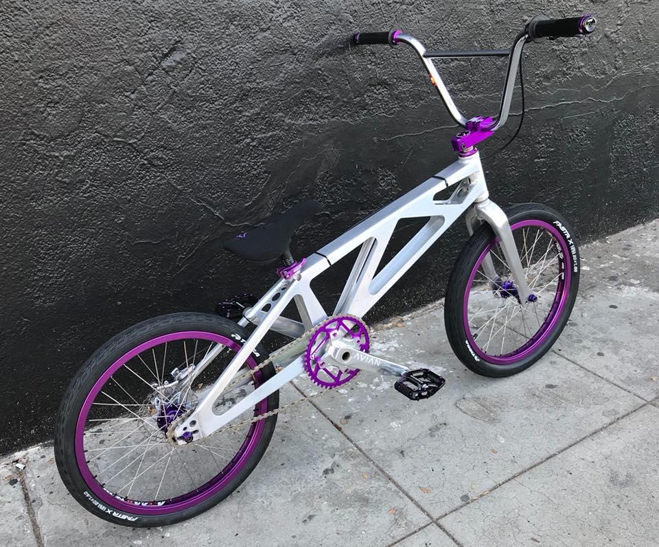jayhawk Racing bmx Purple
