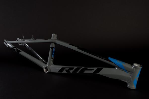2018 Rift ES20 BMX Frame grey blue