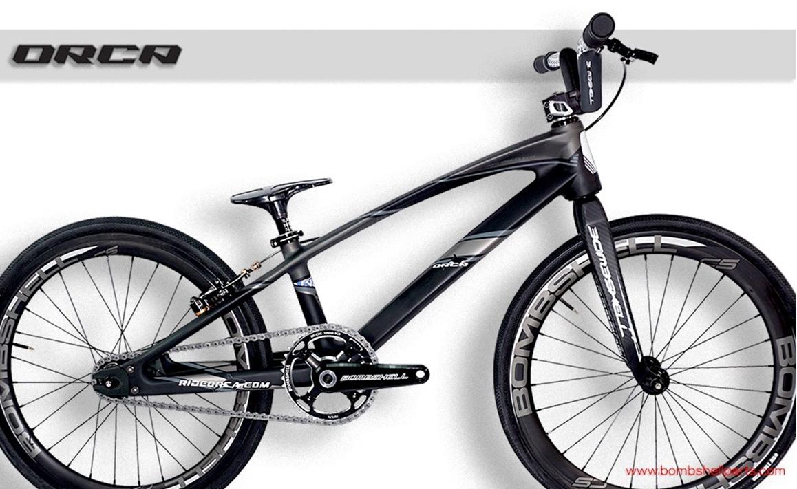 Avent Orca Carbon BMX race mini complete