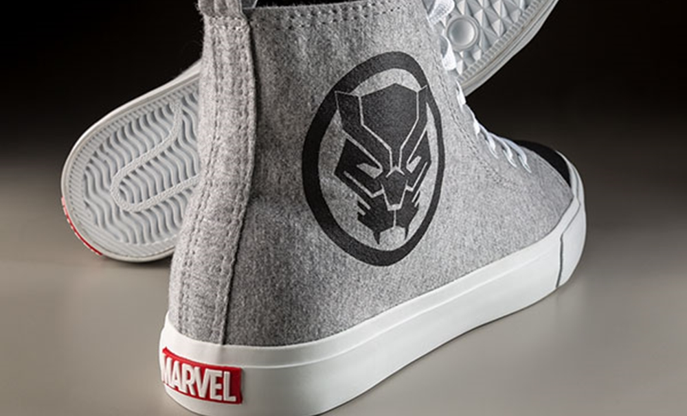 Marvel Disney Black Panther kicks