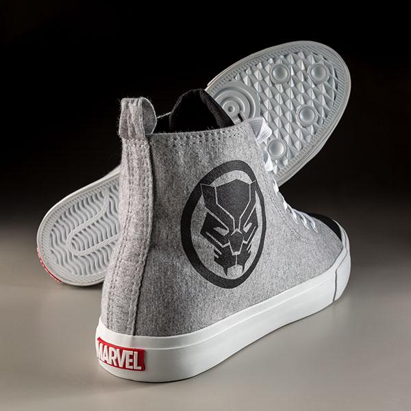 Black Panther sneakers Heel