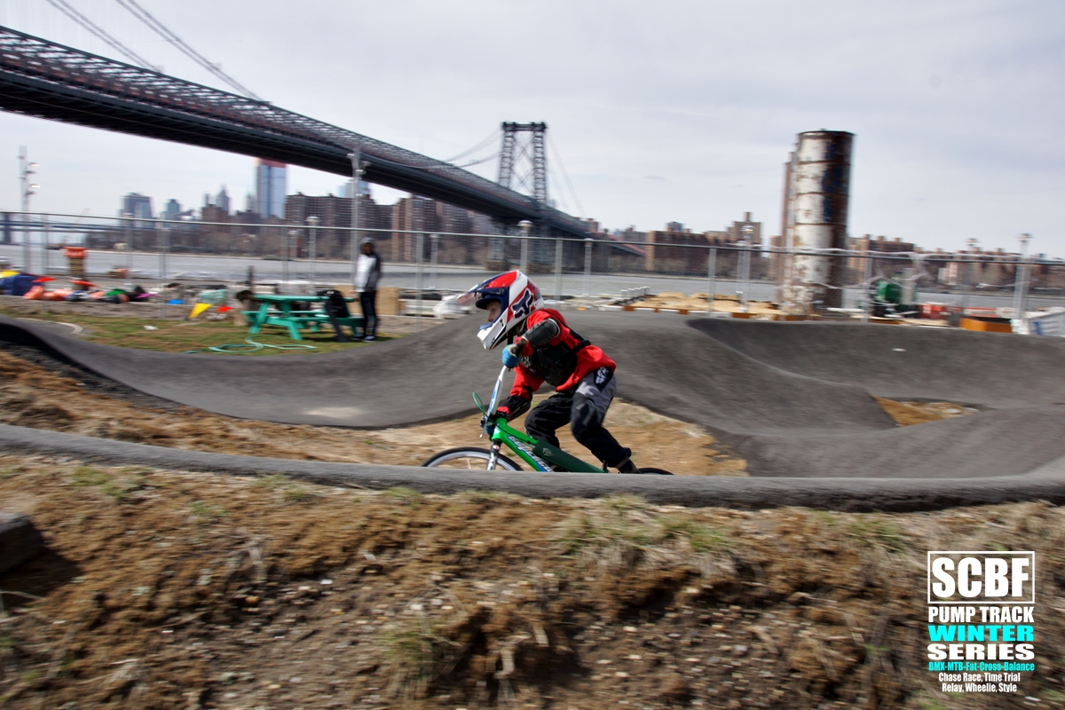 brooklyn pump track bridge