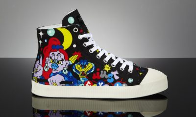 graffiti-xena just-cavalli- sneaker side