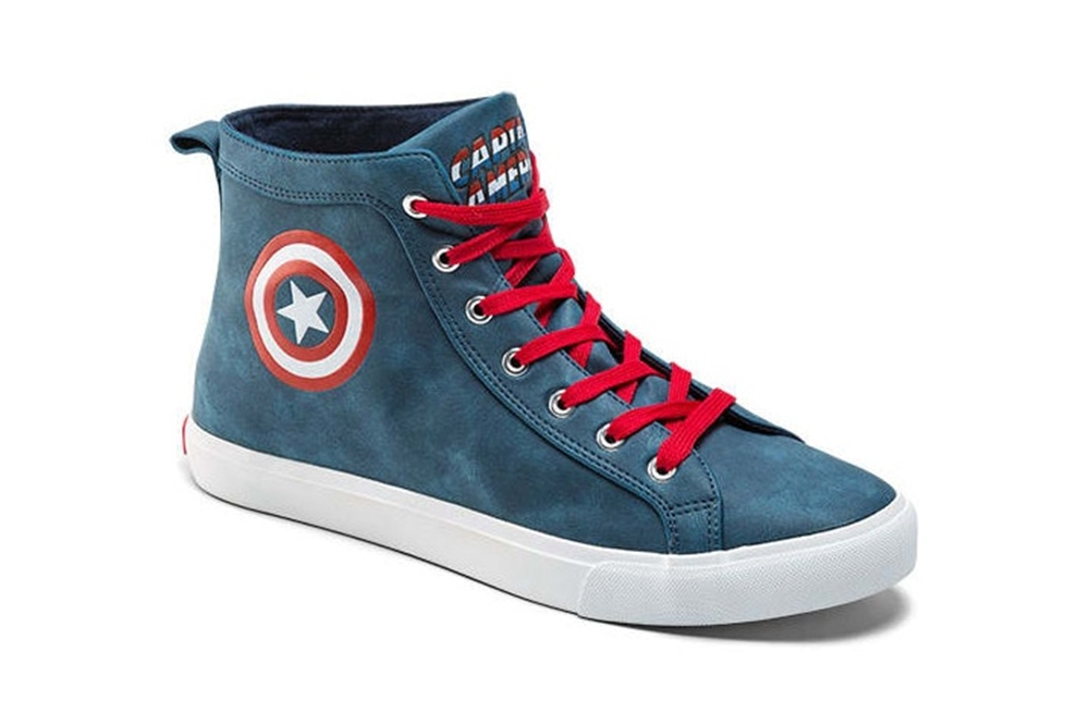 marvel-black-captain America sneaker
