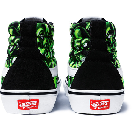 4a84cb025c Supreme x Vans Skull Pile Slip On And Sk8 Hi Kicks - Sugar Cayne