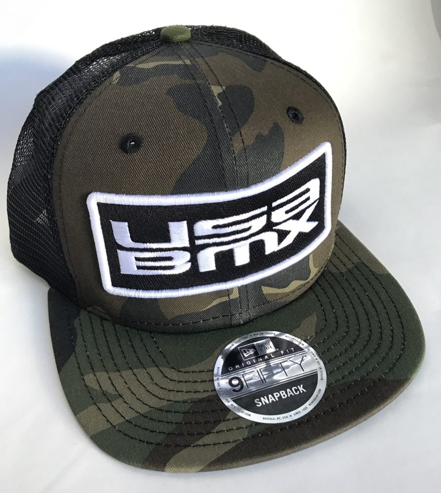 USA BMX New Era Camo hat