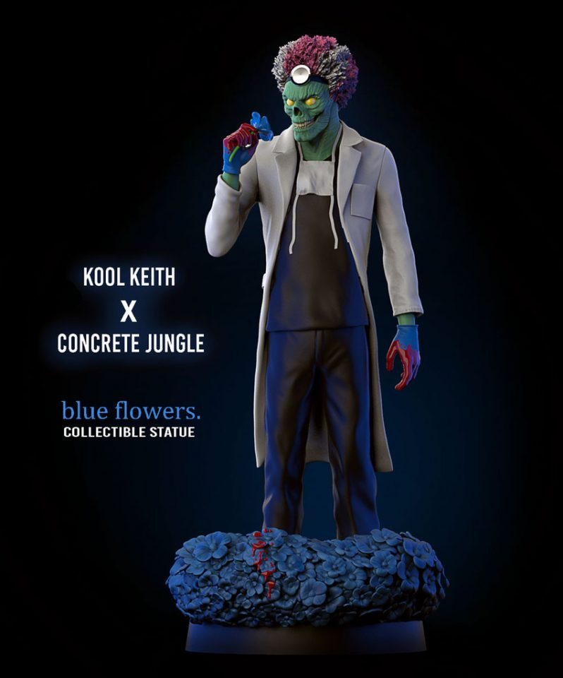 Blue-Flowers-koolkeith-concrete jungle toy