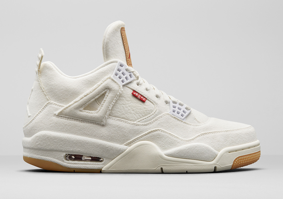 Levis Jordan White Denim