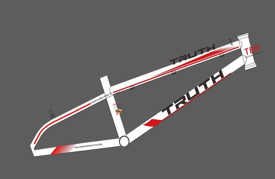 Truth Chromoly Race Frame design