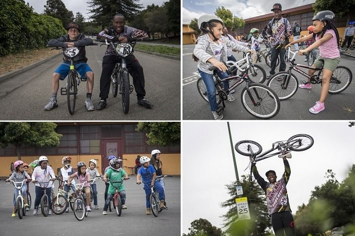 flood the streets with bikes program