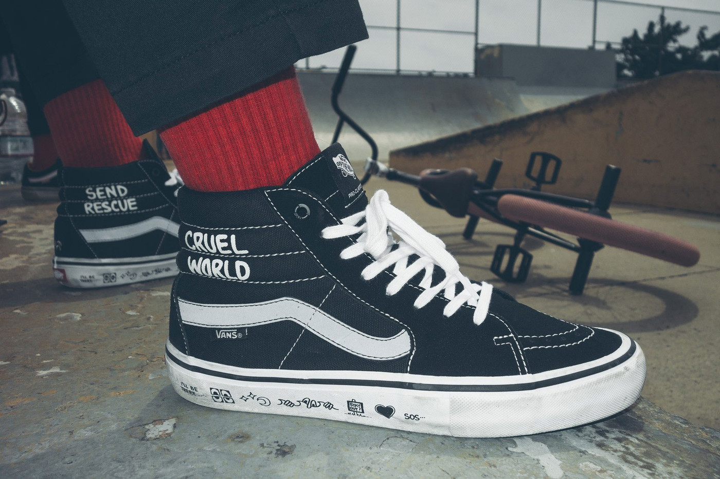 vans cult cruel world