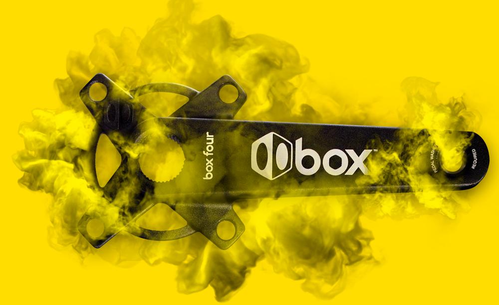 Box Four cranks ad