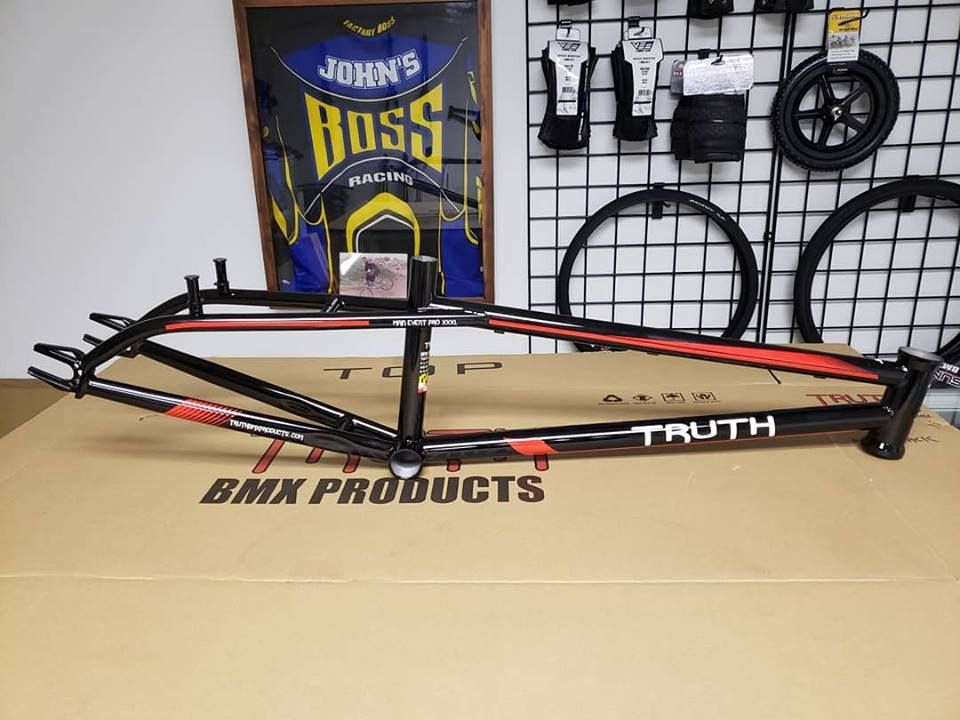 black Main Event Chromoly Truth bmx products