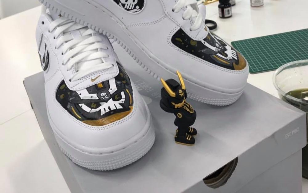 Quiccs Teq63 custom Nike AF1