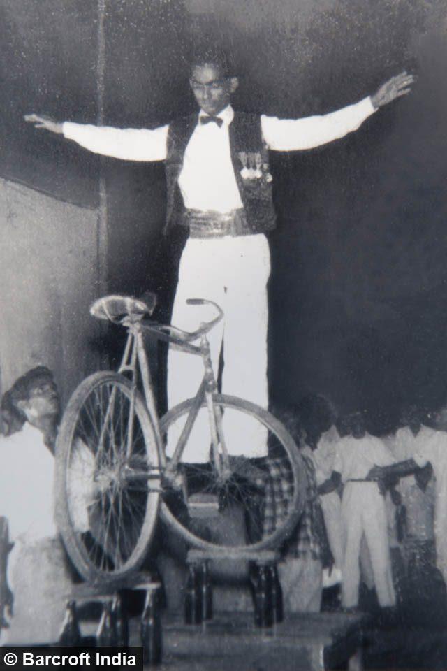Mangal Ustad Bicycle Yoga