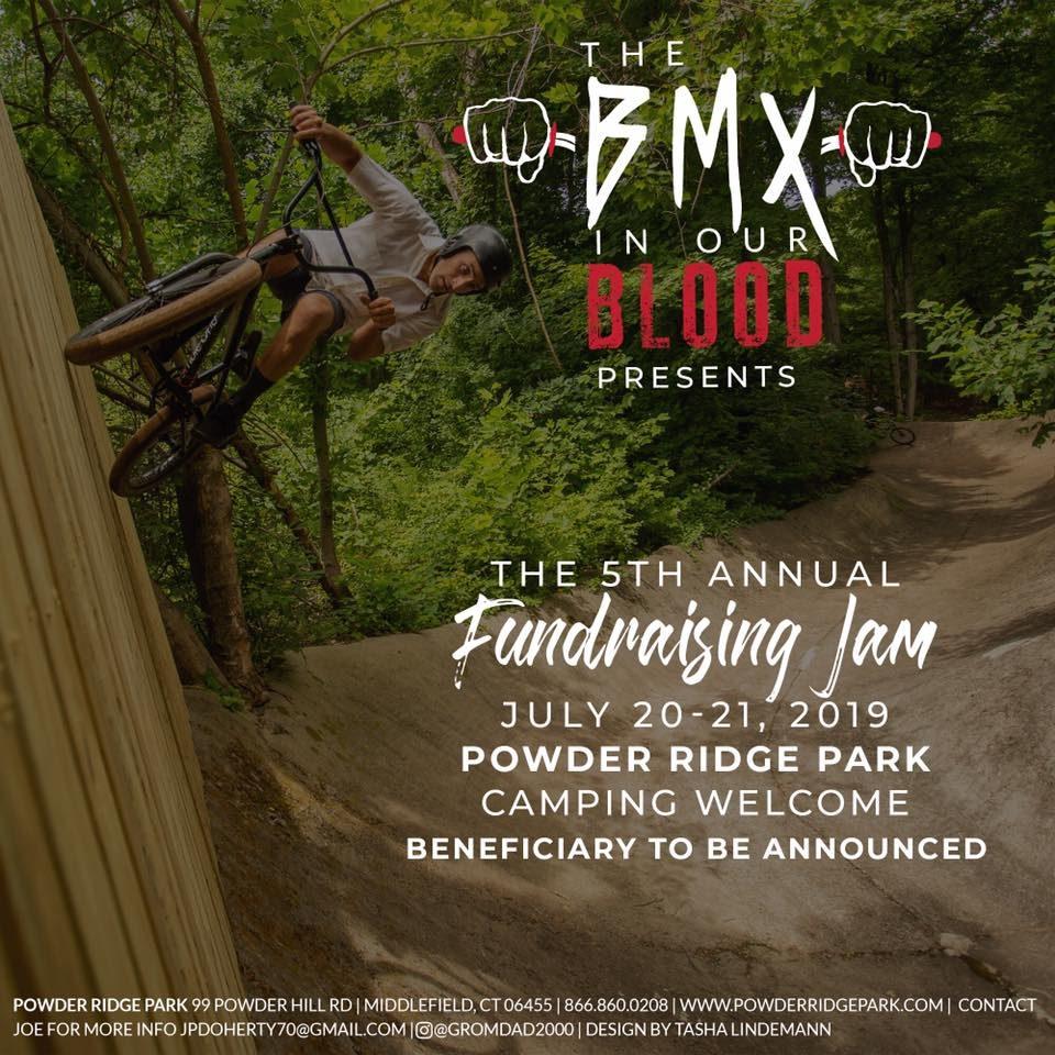 bmx in blood fundraiser