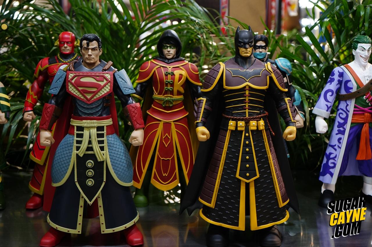 Ancient Chinese Armored batman, superman