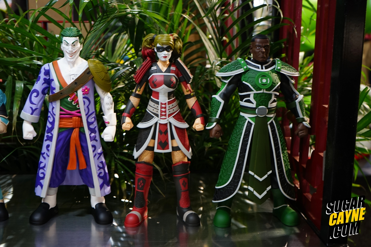 Chinese Armored joker, harley quinn