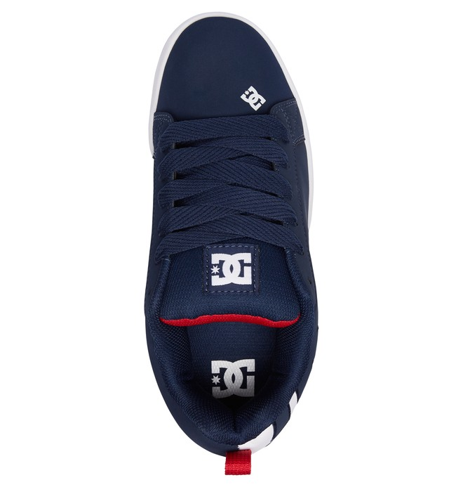 DC Court Graffik blue sneakers