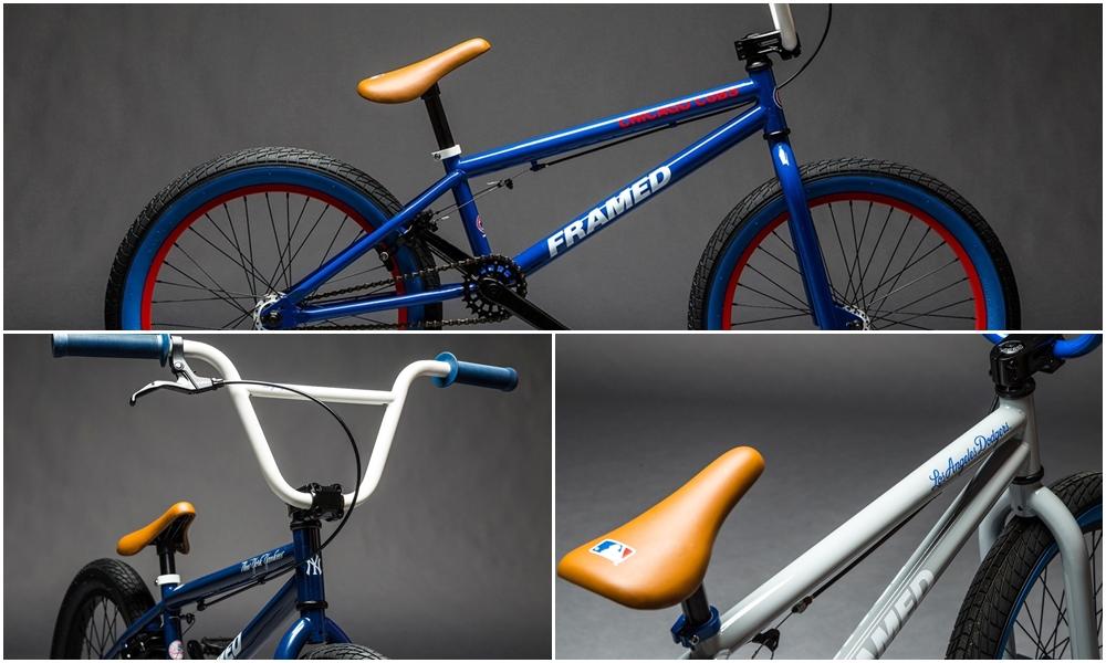 Framed BMX MLB bikes