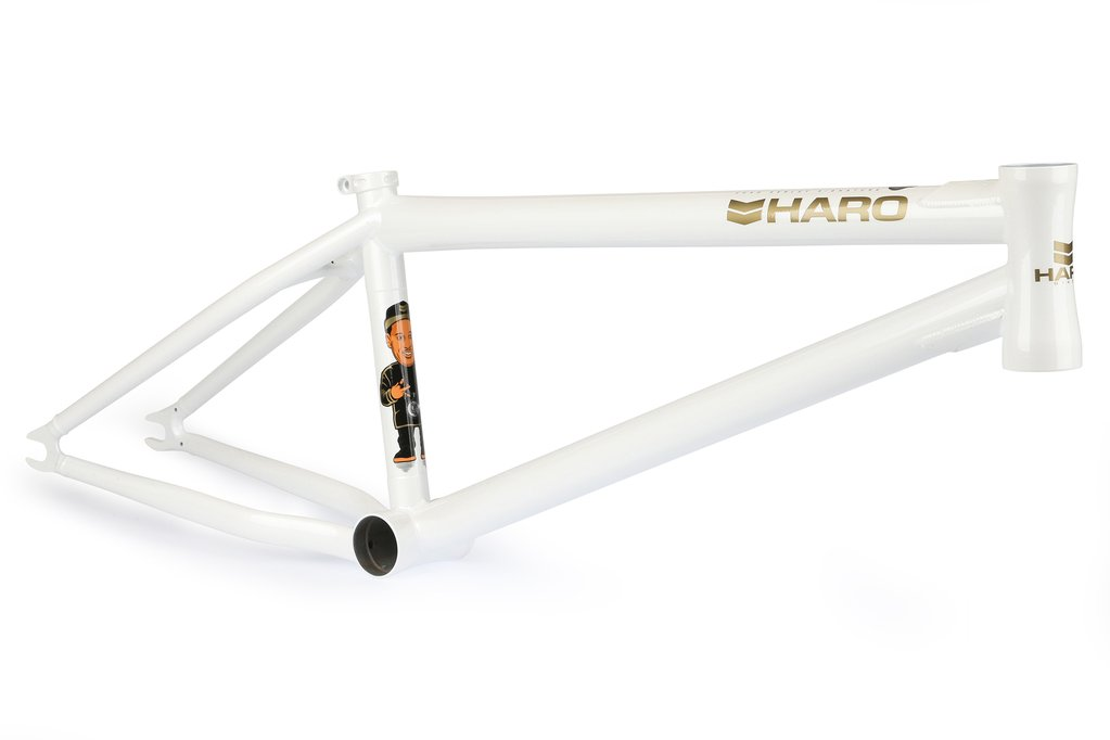haro chad kerley frame white