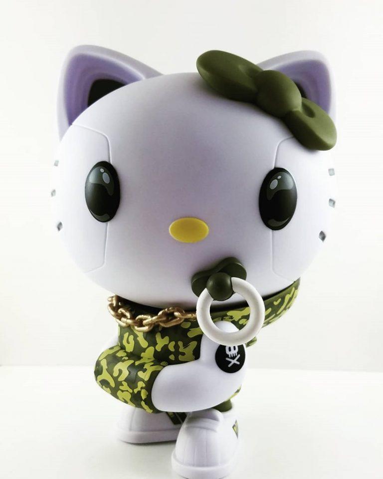 Green Camo Hello Kitty quiccs