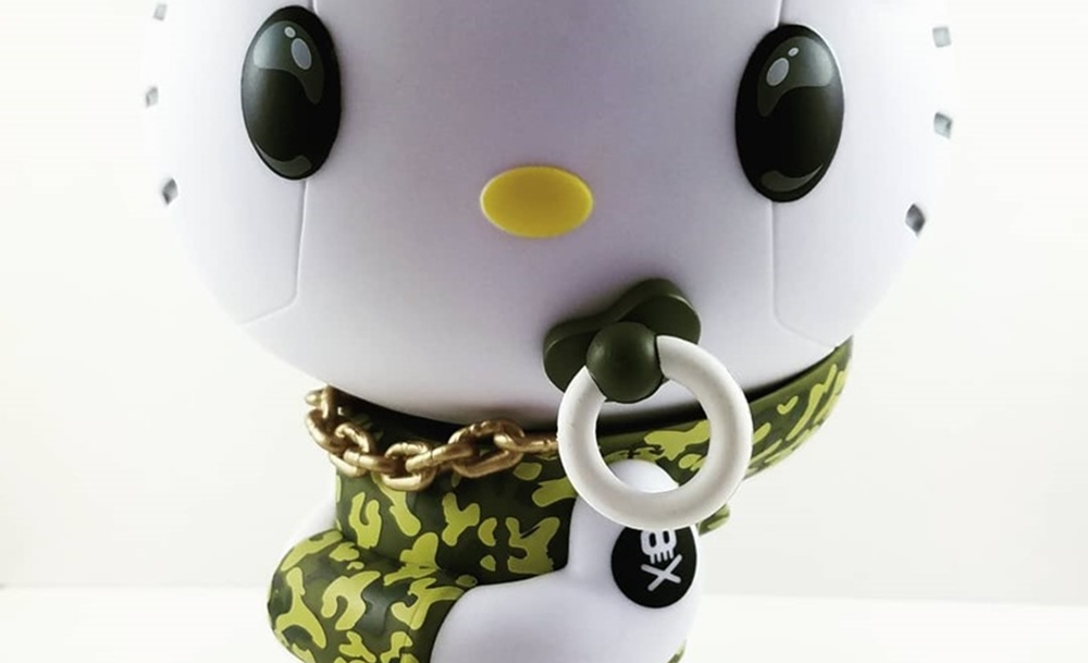 Hello Kittie Quiccs kidrobot