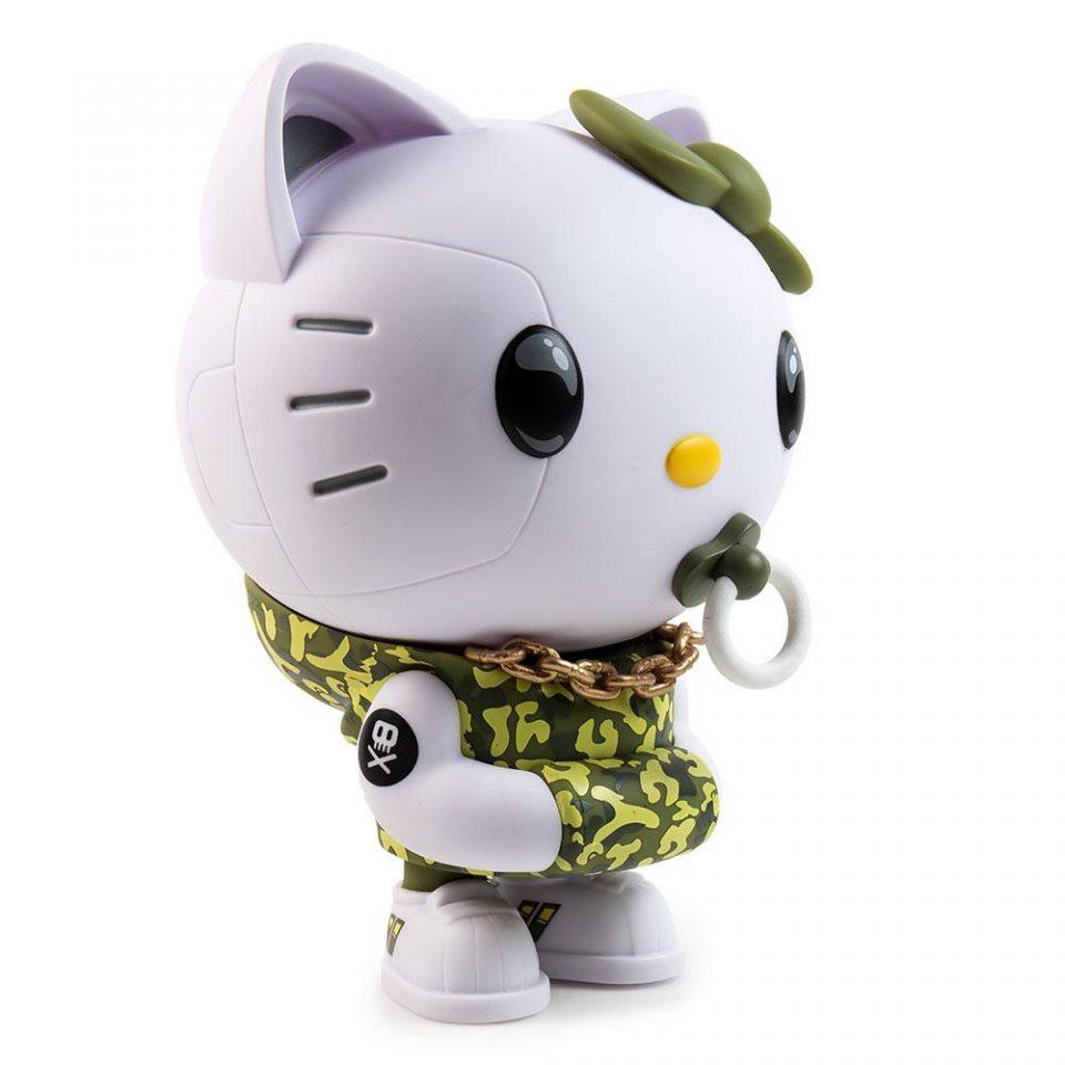 Green Camo Hello Kitty