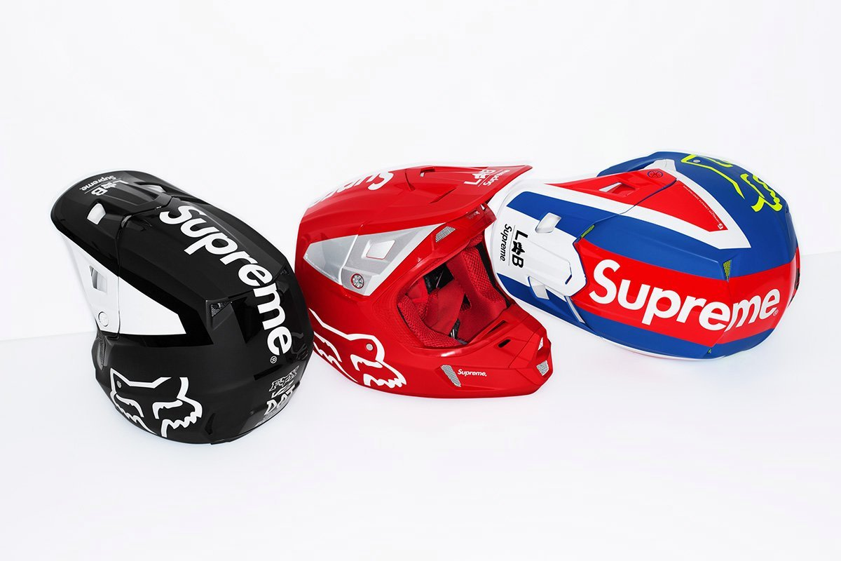 supreme-fox-racing- SS-18 Helmets