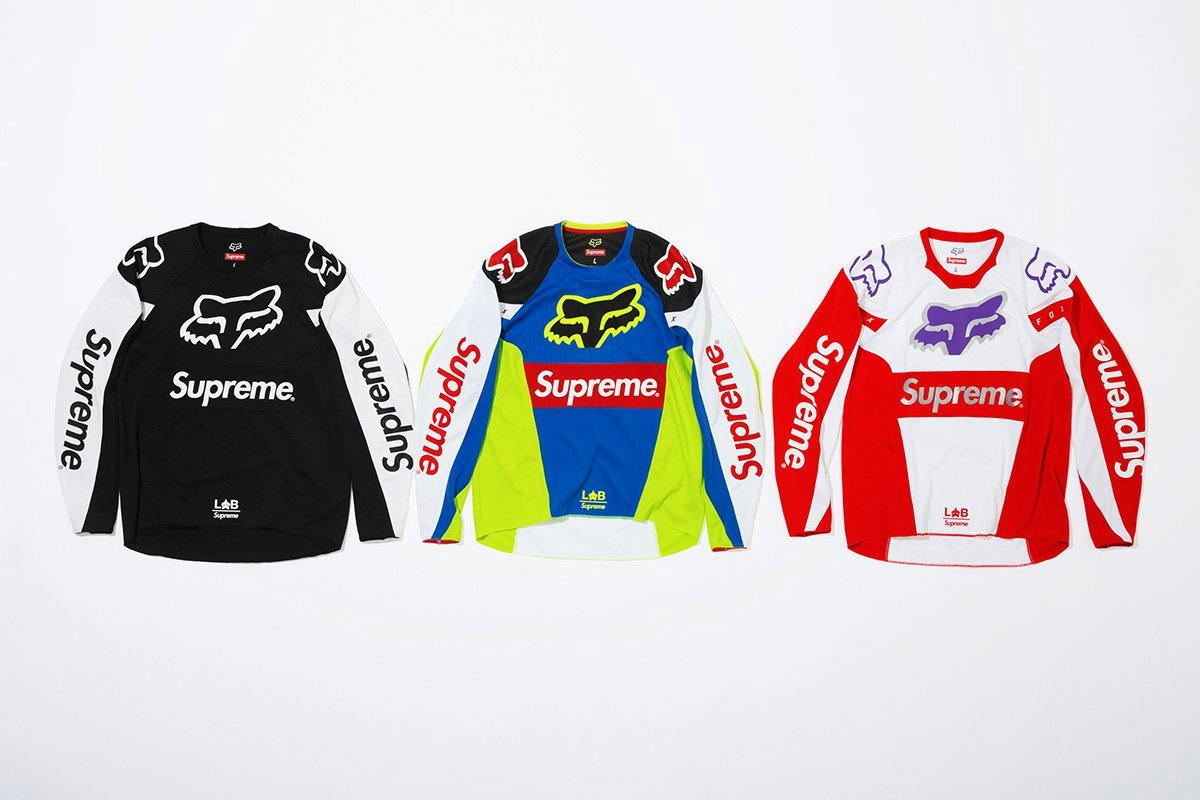 supreme-fox- SS-18 collection jerseys