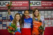 Manon Valentino 2019 BMX World cup win