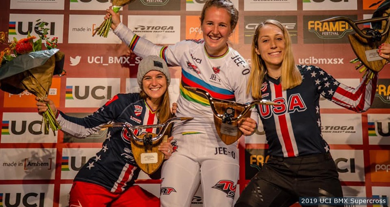 laura smulders bmx world cup win