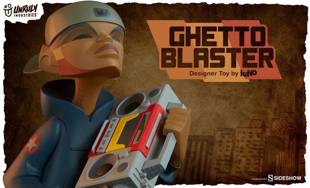 kano ghetto blaster sdcc