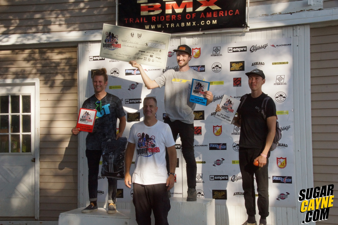 tra open wheel dirt jump results