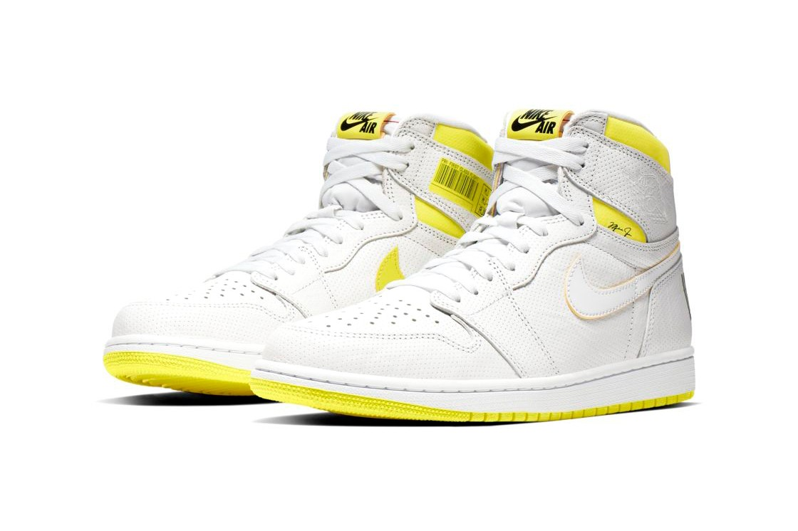 jordan-first-class white yellow