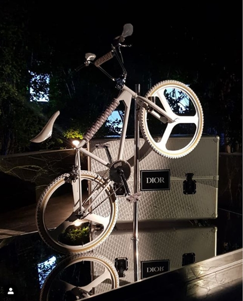 dior bmx bike and case