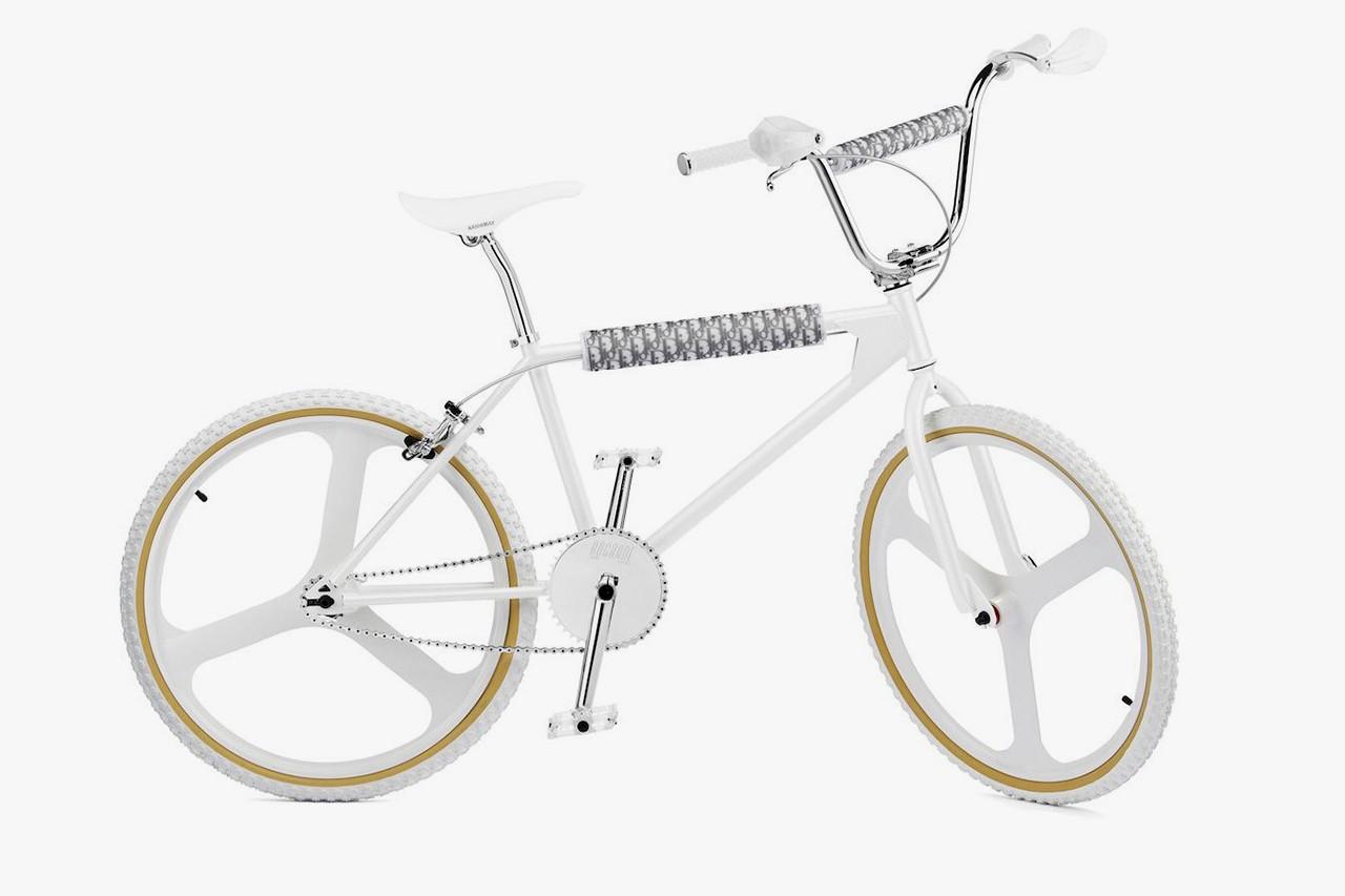 Dior BMX Bike white